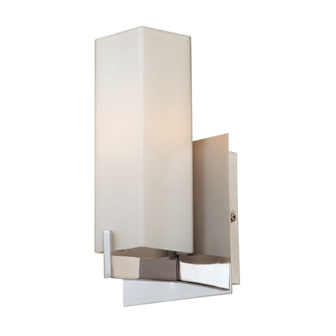 Alico BV281-10-16M Moderno Collection Matte Satin Nickel Finish Wall Sconce