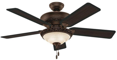 "Casablanca 53200 Italian Countryside® - 52"" Cocoa Bowl Light Kit 53200 FAN"