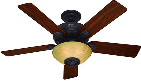 "Casablanca 59033 Westover® Heater Fan- 52"" New Bronze Bowl Light Kit 59033 FAN"