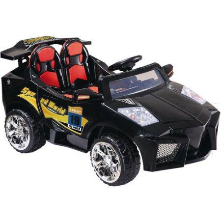 Mini Motos MM-GB5018_Black Super Car 12v Black