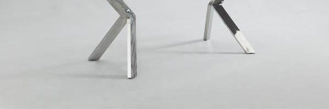 Chintaly ELLA-DT Butterfly Legs Extendable Dining Table