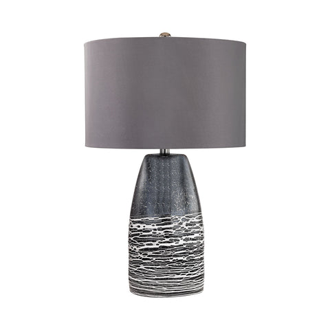 Lamp Works LAM-D2916 Kennebunkport Collection Horizon Grey Finish Table Lamp