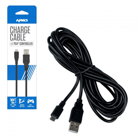 PS4 Charge Cable for Controllers (KMD-PS4-2944)