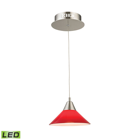 Alico LCA101-11-16M Cono Collection Satin Nickel Finish Pendant