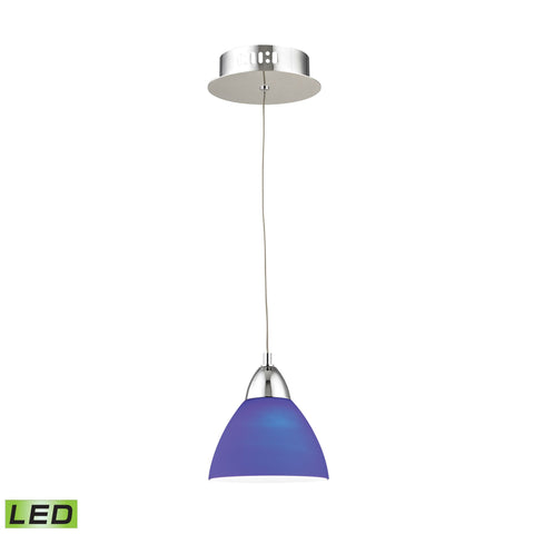 Alico LCA301-7-15 Piatto Collection Chrome Finish Pendant