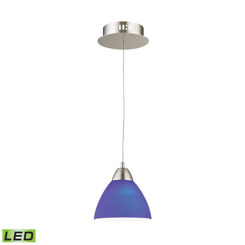 Alico LCA301-7-16M Piatto Collection Satin Nickel Finish Pendant