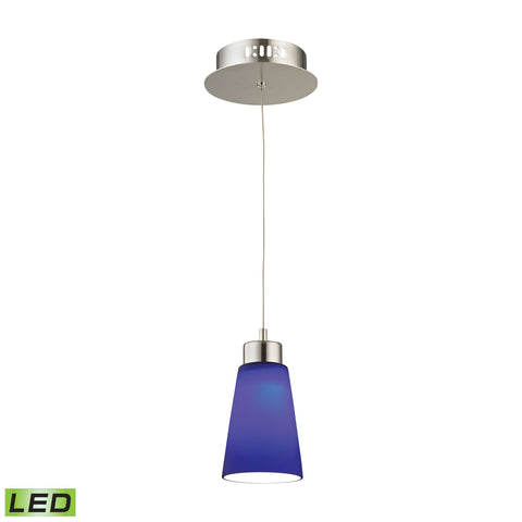 Alico LCA501-7-16M Coppa Collection Satin Nickel Finish Pendant