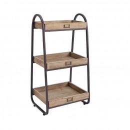 Bayden Hill AHW800AS1 Three Metal Basket Stand
