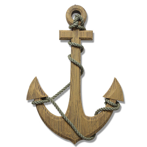 Furnistars Ornamental Nautical Ship Anchor Wall Decoration - Peazz.com