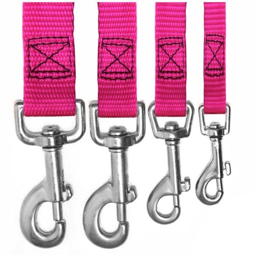 Majestic Pet Products 3/4in x 4ft Lead Pink By Majestic Pet Products