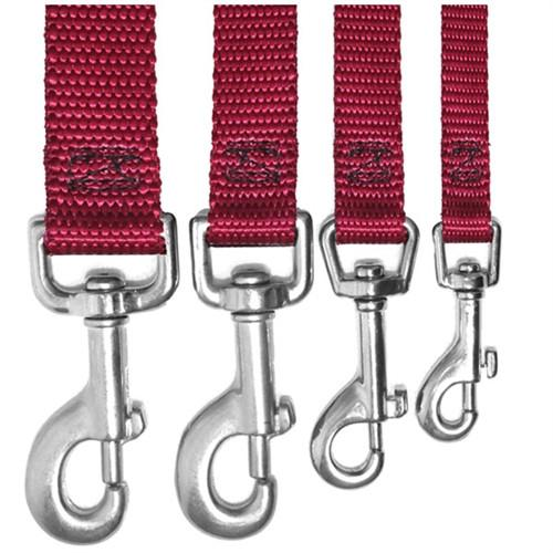 Majestic Pet Products 3/4in x 6ft Lead Burgundy By Majestic Pet Products