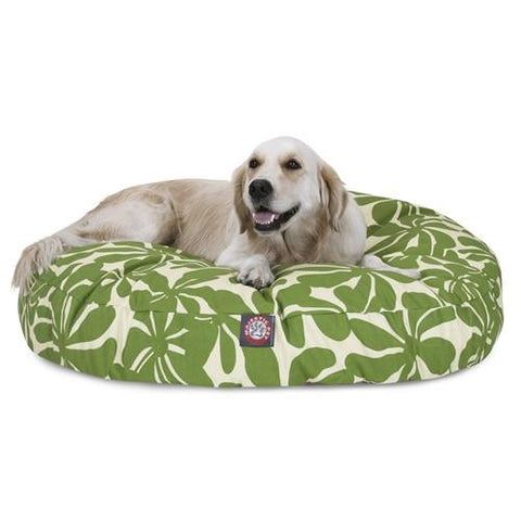 Majestic Pet Products Sage Plantation Large Round Pet Bed - Peazz.com