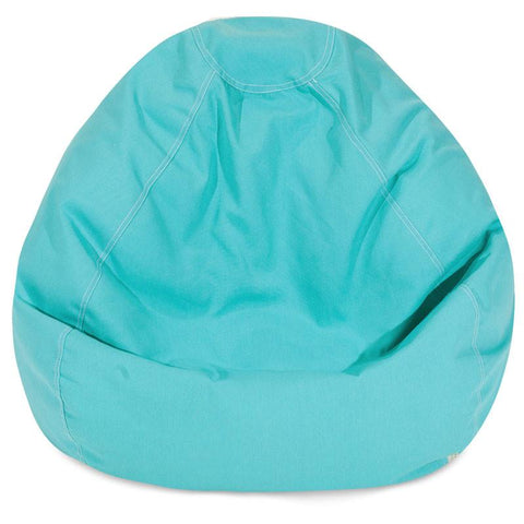 Majestic Home Goods 85907248035 Teal Small Classic Bean Bag - Peazz.com