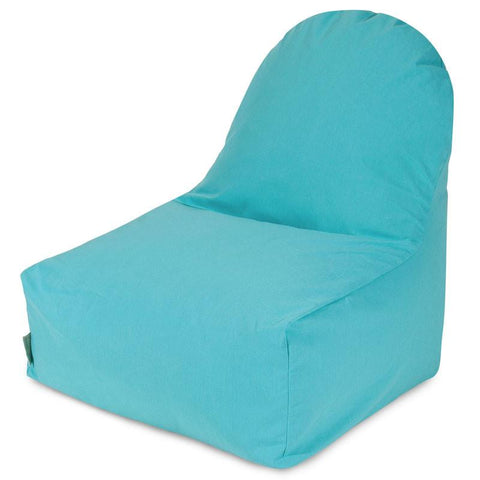Majestic Home Goods 85907251035 Teal Kick-It Chair - Peazz.com