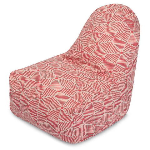 Majestic Home Goods 85907251060 Charlie Salmon Kick-It Chair - Peazz.com