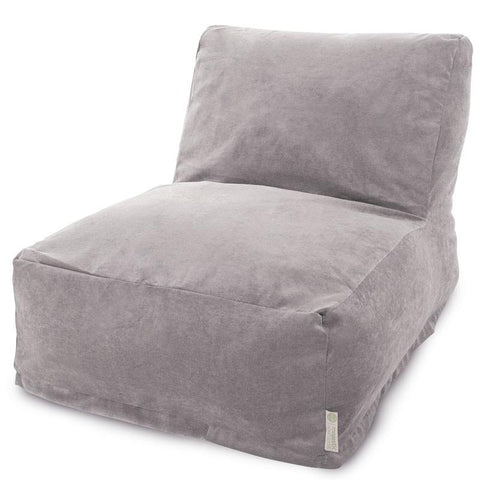 Majestic Home Goods 85907260325 Villa Vintage Bean Bag Chair Lounger - Peazz.com