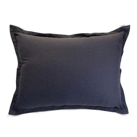 Majestic Home Goods 85907266003 Navy Wales Floor Pillow - Peazz.com
