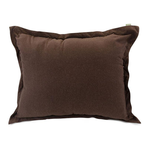 Majestic Home Goods 85907266005 Chocolate Wales Floor Pillow - Peazz.com