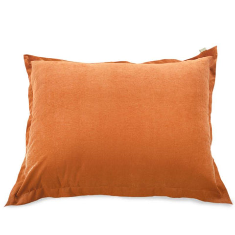 Majestic Home Goods 85907266024 Villa Orange Floor Pillow - Peazz.com
