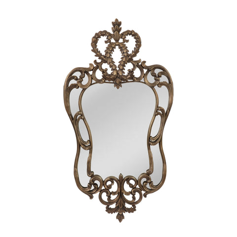 Mirror Masters MP3259-0010 Edward III Collection Aged Bronze Finish Wall Mirror