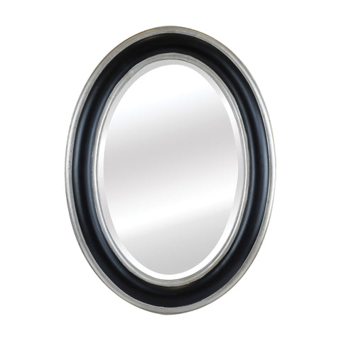 Mirror Masters MW1640A-0074 Clyburn Collection Antique Silver,Matte Black Finish Wall Mirror