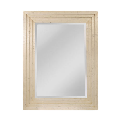 Mirror Masters MW2900B-0069 Pitney Collection Aged Silver,Ebony Finish Wall Mirror