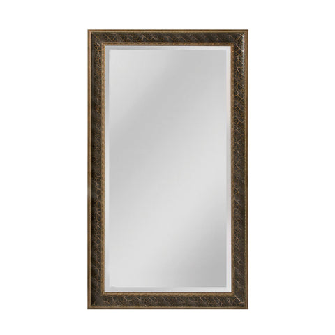 Mirror Masters MW4024-0052 Clearfield Collection Light Antique Silver,Gold,Black Finish Wall Mirror