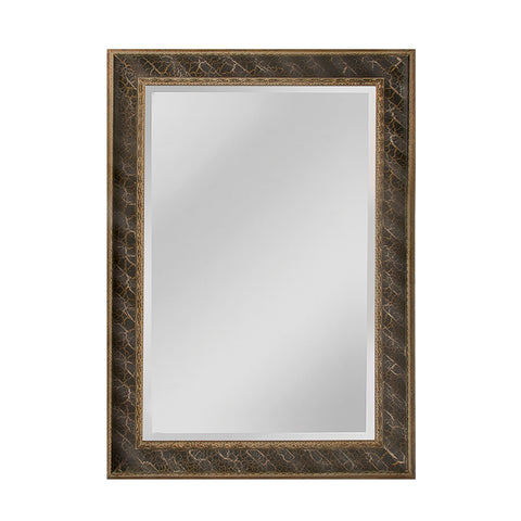 Mirror Masters MW4024C-0052 Clearfield Collection Light Antique Silver,Gold,Black Finish Wall Mirror