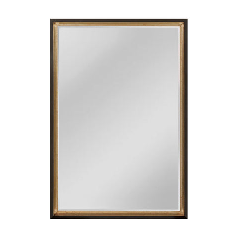 Mirror Masters MW4056B-0024 Whitfield Collection Black,Silver Finish Wall Mirror