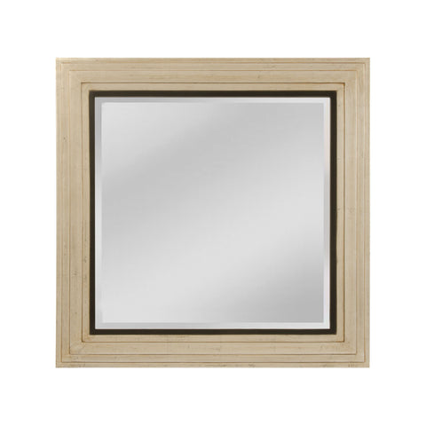 Mirror Masters MW4069A-0057 Sheldon Collection Shining Silver,Gold Mist,Black Finish Wall Mirror
