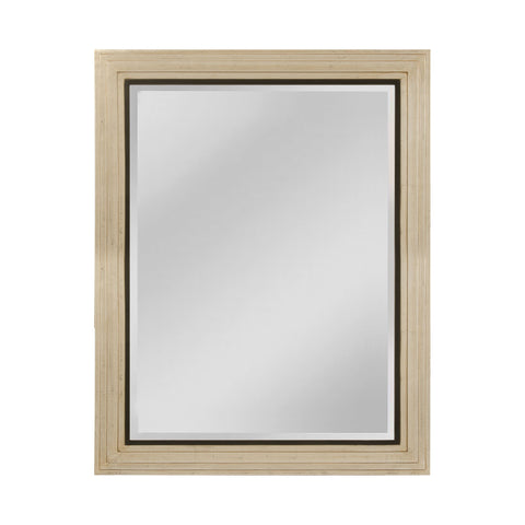 Mirror Masters MW4069B-0057 Sheldon Collection Shining Silver,Gold Mist,Black Finish Wall Mirror