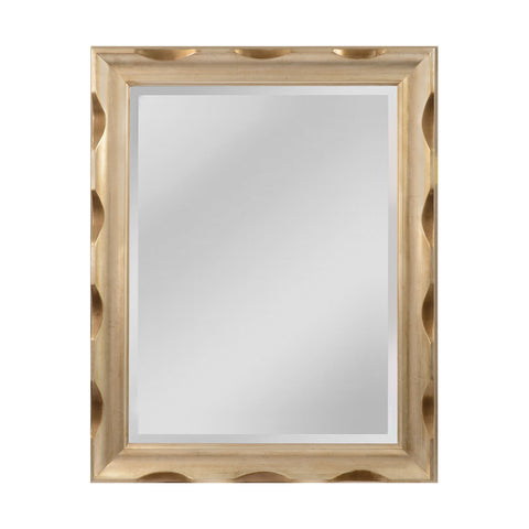 Mirror Masters MW4088-0017 Canal St. Collection Shining Silver Finish Wall Mirror