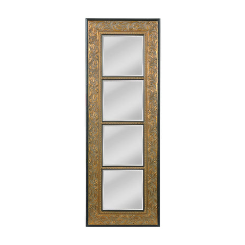 Mirror Masters MW4104-0023 Skyler Collection Rustic Gold Finish Wall Mirror