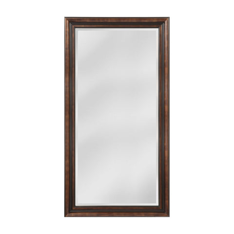 Mirror Masters MW4105D-0037 Gastonia Collection Walnut,Black Finish Wall Mirror