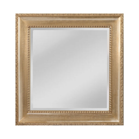 Mirror Masters MW4508B-0027 Beacon Street Collection Light Walnut,Silver Mist Finish Wall Mirror