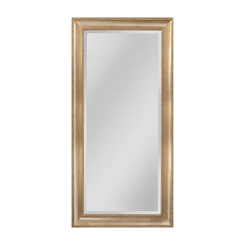 Mirror Masters MW4508C-0027 Beacon Street Collection Light Walnut,Silver Mist Finish Wall Mirror