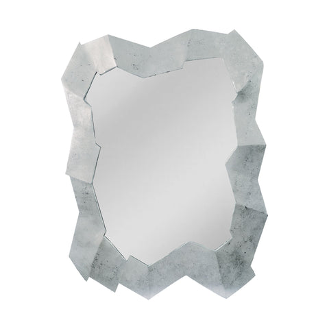 Mirror Masters MW4854-0018 Abstract Stone Collection Clear Finish Wall Mirror