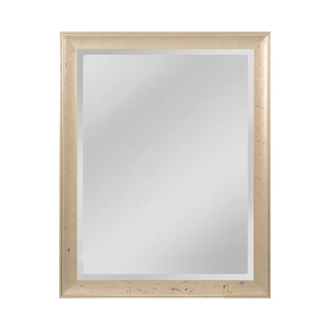 Mirror Masters MW5200C-0048 Maddux Collection Aged Silver,Ebony Finish Wall Mirror