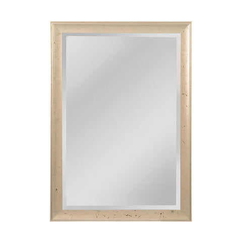 Mirror Masters MW5200D-0048 Maddux Collection Aged Silver,Ebony Finish Wall Mirror