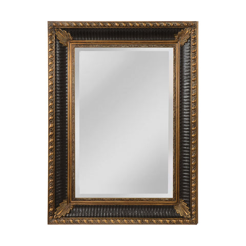 Mirror Masters MW5600A-0070 Colebrook Collection Walnut,Ebony Finish Wall Mirror
