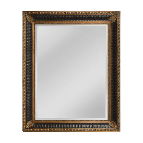 Mirror Masters MW5600B-0070 Colebrook Collection Walnut,Ebony Finish Wall Mirror