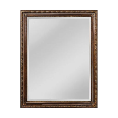 Mirror Masters MW6300A-0043 Glenroy Collection Medium Bronze,Venetian Gold Finish Wall Mirror