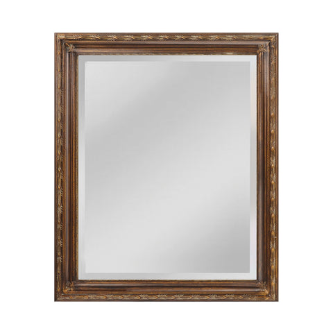 Mirror Masters MW6300D-0043 Glenroy Collection Medium Bronze,Venetian Gold Finish Wall Mirror