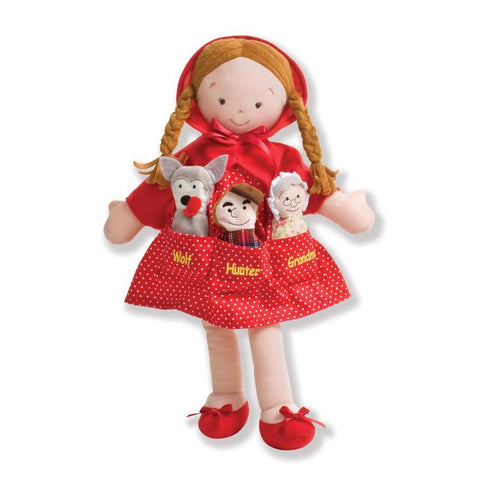 North American Bear 6588 Dolly Pockets Ltl Red Riding Hood Toys