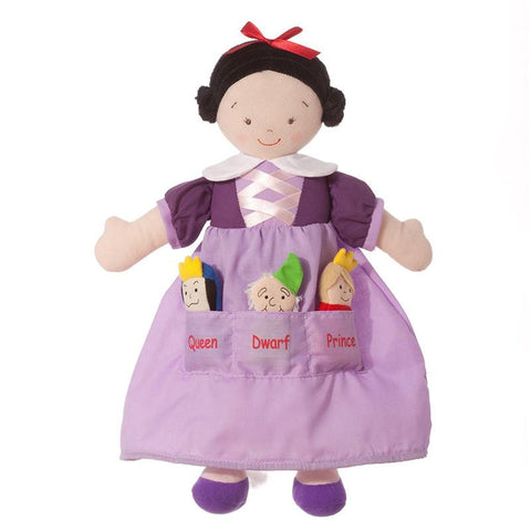 North American Bear 6607 Dolly Pockets Snow White Toys