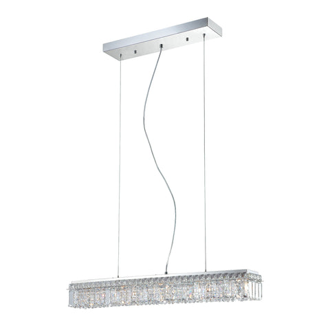 Alico PS1005-0-15 Crown Collection Chrome Finish Pendant
