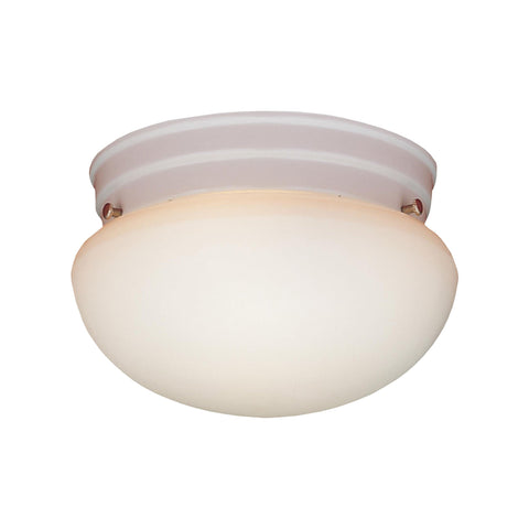 Thomas Lighting SL3258 Essentials Collection Matte White Finish Transitional Flush