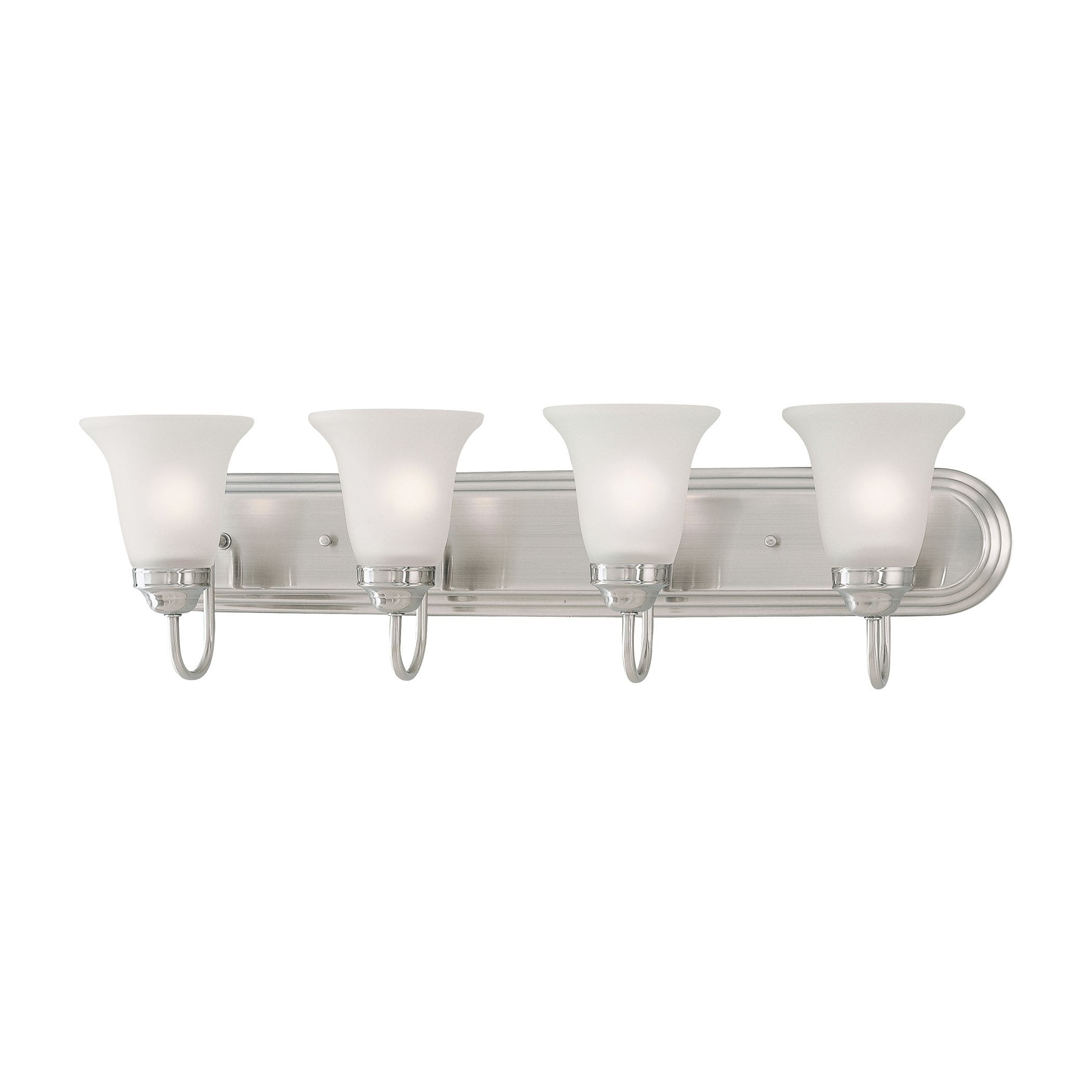 Thomas Lighting SL710441 Homestead Collection Satin Pewter Finish Transitional Wall Sconce