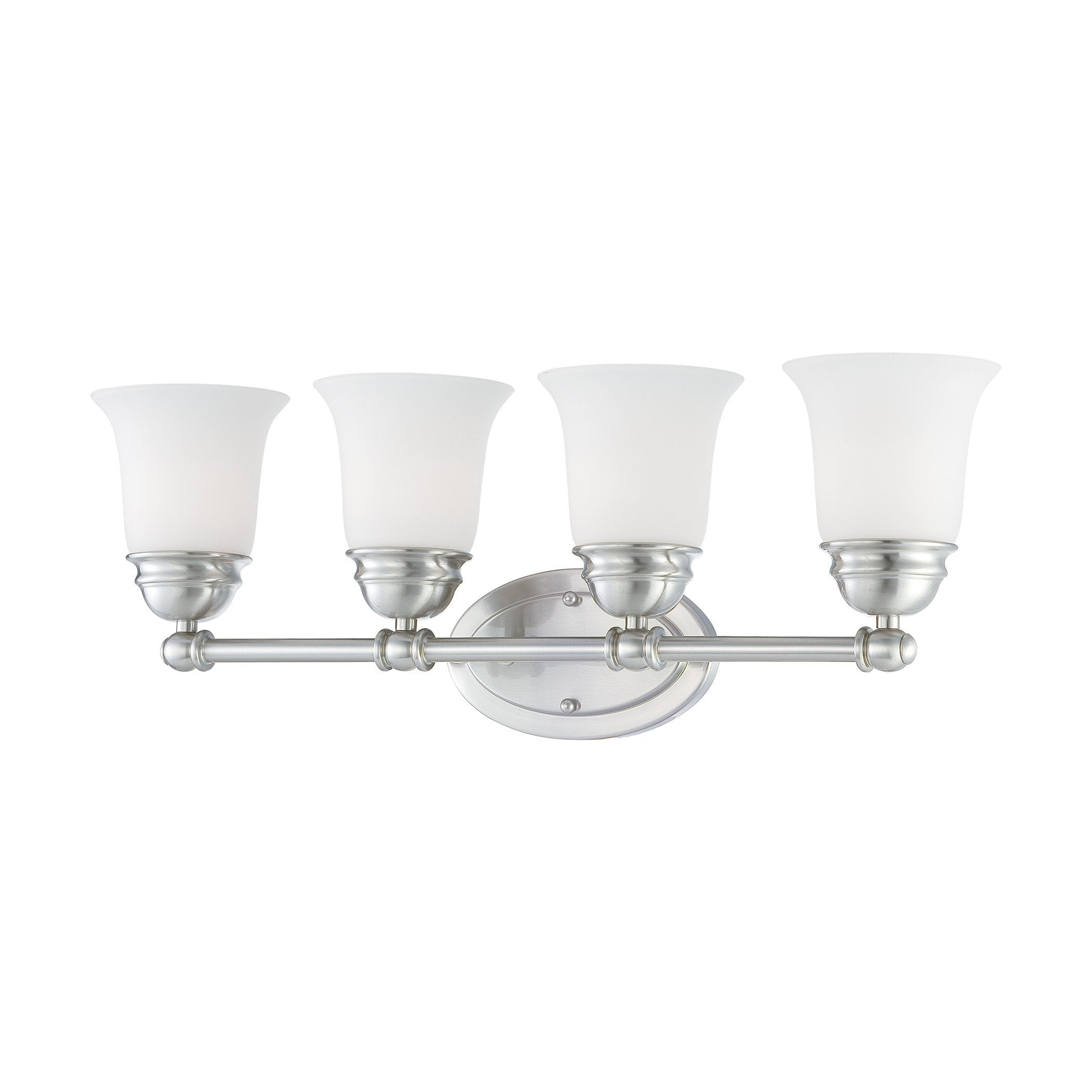 Thomas Lighting SL714478 Bella Collection Brushed Nickel Finish Traditional Wall Sconce