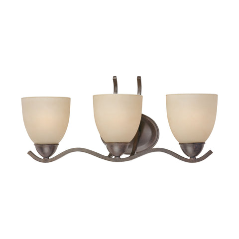 Thomas Lighting SL717322 Triton Collection Sable Bronze Finish Traditional Wall Sconce